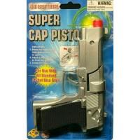 Toy Diecast Cap Gun Metal Revolver