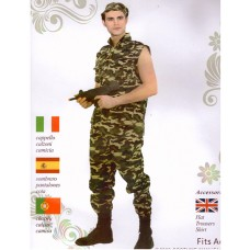 COSTUME BRAVE SOLDIER