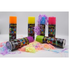 Non-flammable crazy party silly string