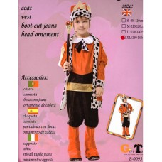 BOY'S COSTUME ​- HONORABLE KING