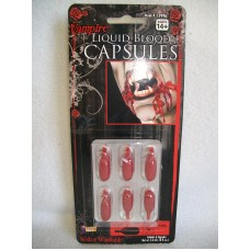 BLOOD CAPSULES ON CARD