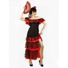 WOMEN'S COSTUME FLAMENCO DANCE WOMAN
