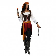 WOMEN'S COSTUME PIRATE WOMAN
