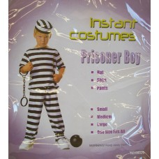 BOYS COSTUME PRISONER BOY