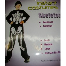 BOYS COSTUME SKELETON
