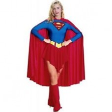 WOMAN'S COSTUME SUPERWOMAN