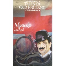 DRESS UP MONOCLE WITH MUSTACHE
