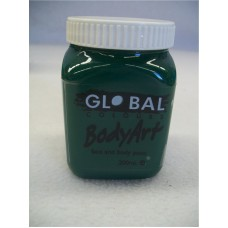 FACE AND BODY PAINT IN JAR 200ML-GREEN