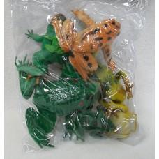 BIG ASSORTED FROGS  IN BAG
