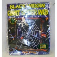 GIANT BLACK WIDOW SPIDER AND WEB