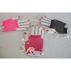 SHORT FISHNET FINGERNESS GLOVES