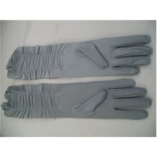 LONG GREY GLOVES