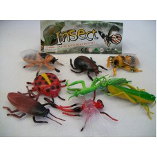 ASSORTED INSECTS IN BAG