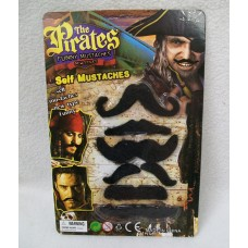 ASSORTED PIRATE MUSTACHES