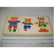 WOODEN BEAR PUZZLE LARGE