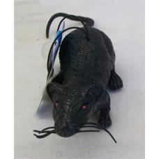 BLACK RUBBER RAT