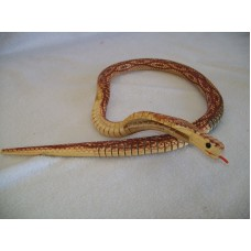 JOINTED WOODEN PYTHON