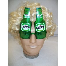 NOVELTY BEER BOTTLE GLASSES